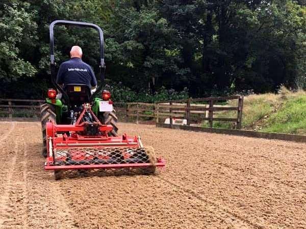 equestrian arena maintenance