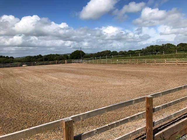 Beta-Ride Equestrian Arena Surfaces - Pembrey Arena