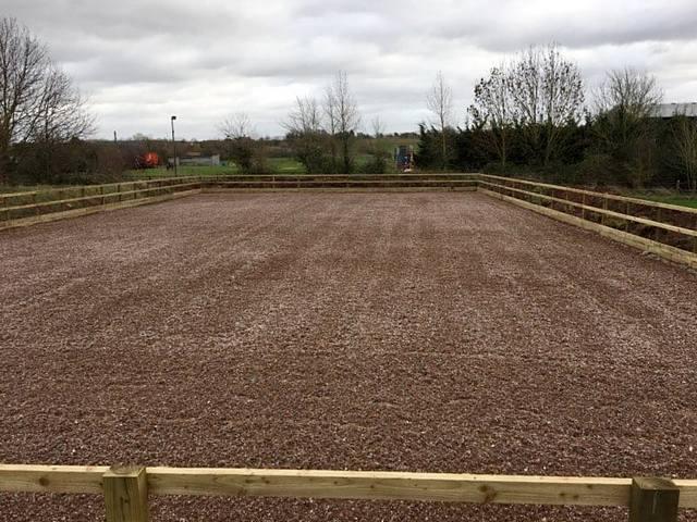 Beta-Ride Sand and Carpet Fibre Arena Surface