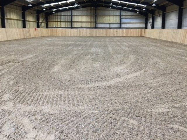 Beta-Ride Equestrian Arena Surfaces with Lycra