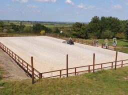 New arena in North Curry - Somerset