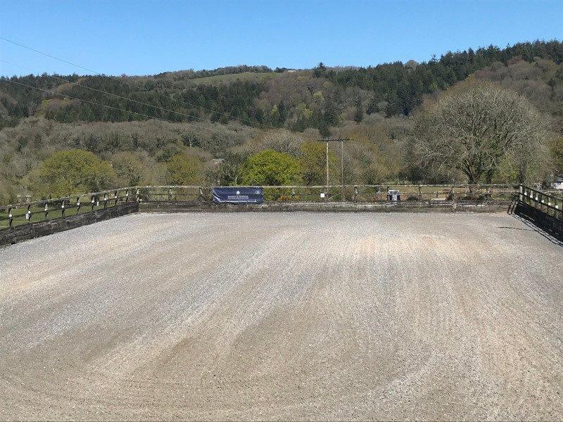 New Beta-Ride sand & carpet fibre arena surface