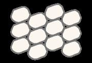 Sub-Angular Sand Grains graphic